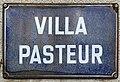 Plaque Villa Pasteur - Rosny-sous-Bois (FR93) - 2021-04-16 - 1.jpg