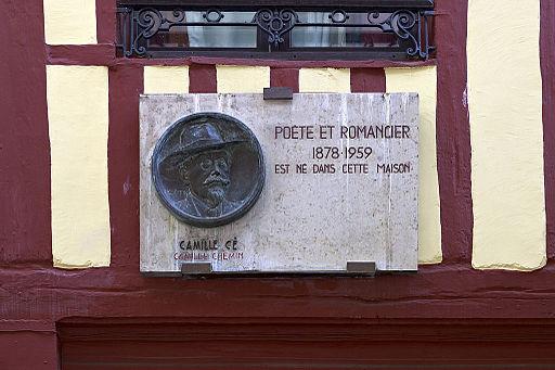 Plaque commémorative Camille Cé (7742386170)