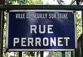 Plaque rue Perronet, Neuilly-sur-Seine.jpg
