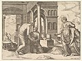Plate 22- Venus ordering Psyche to Sosort a heap of grain, from the 'Fable of Psyche' MET DP824469.jpg