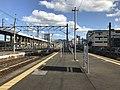Platform of Nishi-Kokura Station (Nippo Main Line) 3.jpg