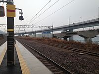 Platform of Oyashirazu Station (west) 2.JPG
