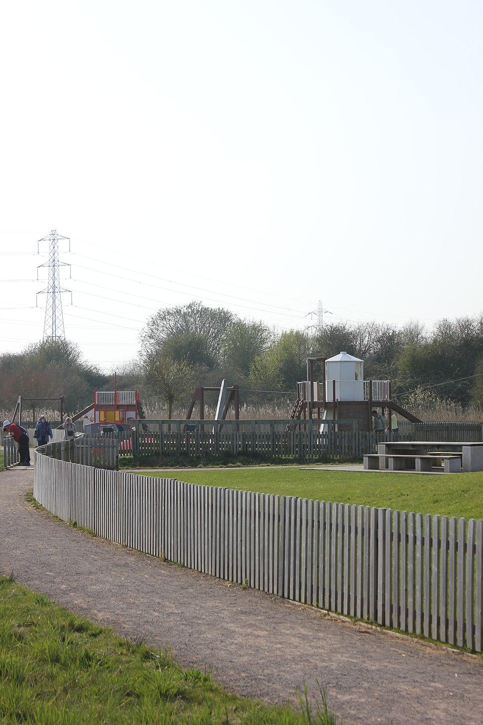 Playground at Newport Wetlands Centre