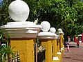 Plaza Pillars - Valladolid - Yucatan - Mexico.jpg