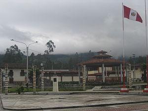 Molinopampa District - Image: Plaza de Armas en Molinopampa