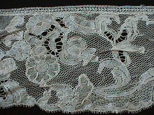 Brussels lace - Point d'Angleterre, 18th