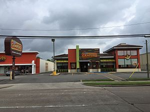 History of the Central Americans in Houston - Pollo Campero in Gulfton