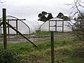 Polytunnels alongside Cripple Gate Lane, East Boldre - geograph.org.uk - 351578.jpg