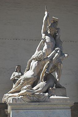 Il ratto di Polissena (1866), Pio Fedi (1816-1892), Loggia dei Lanzi à Florence