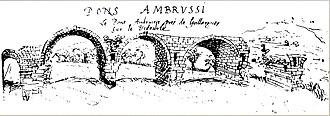 Pont Ambroix - Image: Pons Ambrussi