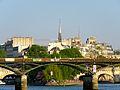 Pont des Arts, Paris 22 April 2015.jpg