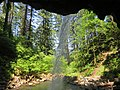 Ponytail Falls at Columbia River Gorge in Oregon 2.jpg