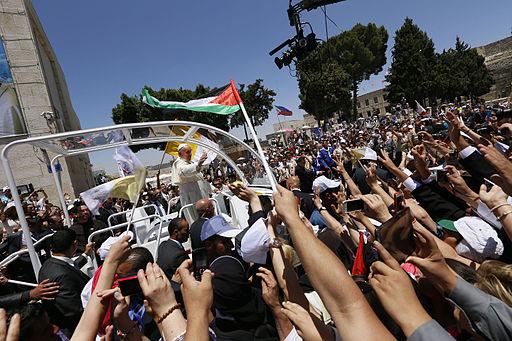 Pope Francis visit Bethlehem