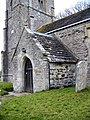 Porch, St Laurence's Church, Affpuddle - geograph.org.uk - 1175023.jpg