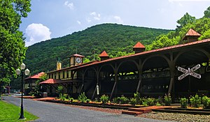 Port Clinton, Pennsylvania - Reading and Northern Railroad depot in Port Clinton