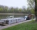 Port czerniakowski barki mieszkalne.jpg