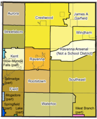 Portage County school districts overlay
