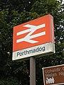 Porthmadog Railway Station sign.jpg