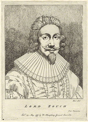 Edward la Zouche, 11th Baron Zouche - Portrait etching of Lord Zouche published 29 May 1777