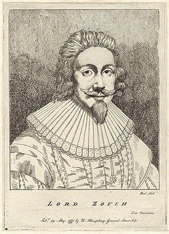 Edward la Zouche, 11th Baron Zouche - Portrait etching of Lord Zouche published 29 May 1777