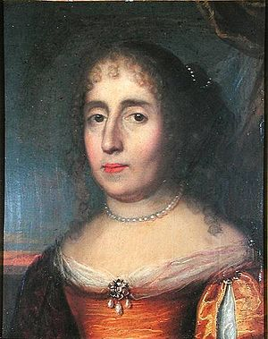 Madeleine de Scudéry - An older Madeleine de Scudéry