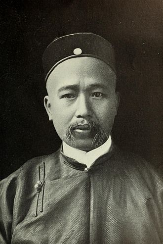 Torreón massacre - A portrait of Kang Youwei from 1906 or earlier.