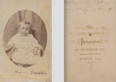 Portrait of baby by Wallace Barnes and Co of Mobile Alabama.png