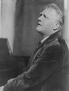 Portrait photograph of Fyodor Chaliapin