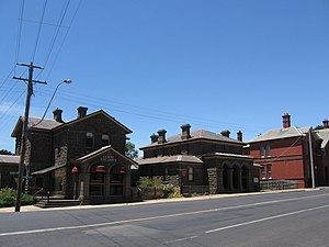 Kilmore, Victoria - The old Post Office and Courthouse at Kilmore