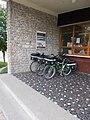 Post Office and bicycles, Balatoni út, Agárd, 2017 Gárdony.jpg