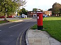 Postbox on corner of Yarmouth Road - geograph.org.uk - 1020291.jpg