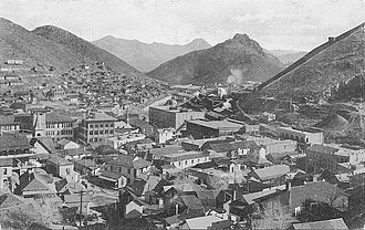 Bisbee, Arizona - Bisbee, looking east, 1909