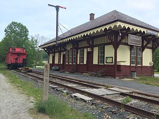 Potter Place Railroad Station United States historic place