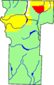 Powderhorn Wilderness location in Hinsdale County.png