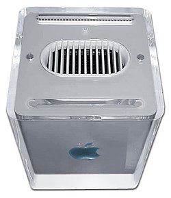 A Power Mac G4 Cube