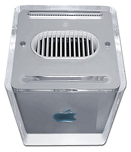 Een Power Mac G4 Cube.