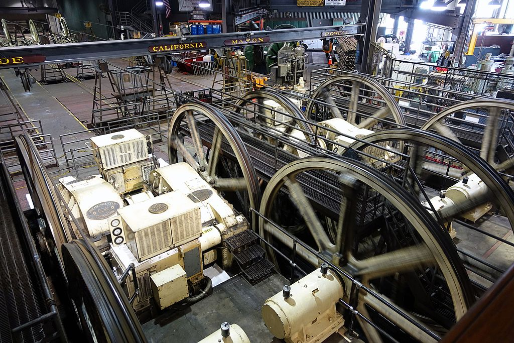 Inside the Cable Car Museum