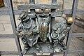 Praha, Katedrála, Zlatá brána, mříž 01.jpg
