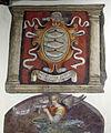 Prato, palazzo pretorio, secondo piano, salone, stemma guicciardini.JPG