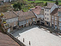 Praza perante o Mosteiro de San Salvador de Celanova, Galiza.jpg