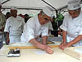 Preparing Soba 11 place on paper.jpg