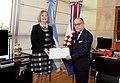 Presentación de copia de cartas credenciales - Croacia Duska Paravic.jpg