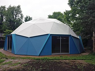 National Register of Historic Places listings in Jackson County, Illinois - Image: Preserved R Buckminster Fuller and Anne Hewlitt Dome Home