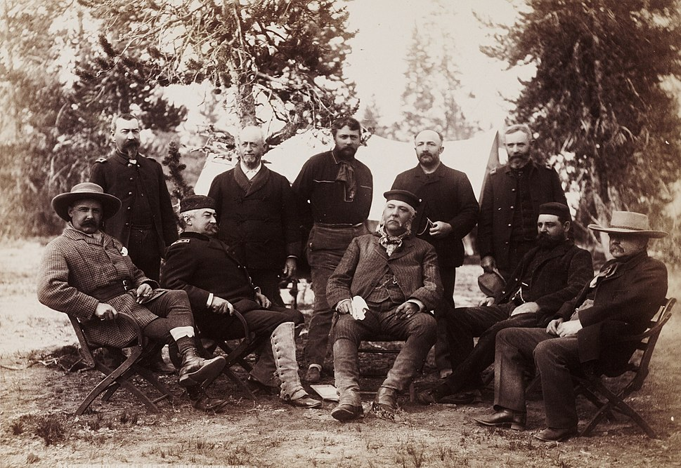 President Chester A. Arthur Yellowstone National Park Expedition 1883