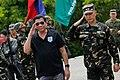 President Rodrigo Duterte arrives at Camp Melchor F. Dela Cruz.jpg