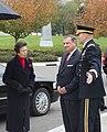 Princess Anne Arrival with MDW Commander MG Jeffrey Buchanan & ANC Superintendent Jack Lechner (15727354595).jpg