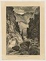Print, Devil's Gate, Weber Cañon, 1874 (CH 18601421).jpg