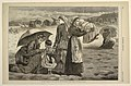 Print, On the Beach at Long Branch-The Children's Hour, from Harper's Weekly, August 15, 1874, p. 672., 1874 (CH 18606375).jpg