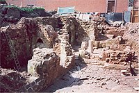 Priory undercroft excavations, 2001 - geograph.org.uk - 1009590.jpg
