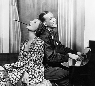 Gertrude Lawrence - Gertrude Lawrence and Noël Coward in Private Lives, a hit in In the UK and the US.